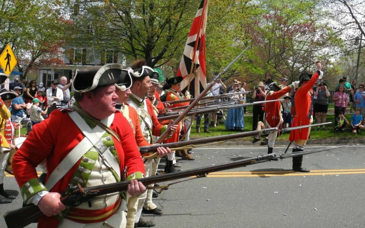 There will not be a Battle of Ridgefield re-enactment this year.