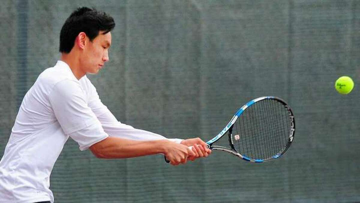 Tadd Long and the Ridgefield High boys tennis team are off to a 3-0 start this season.