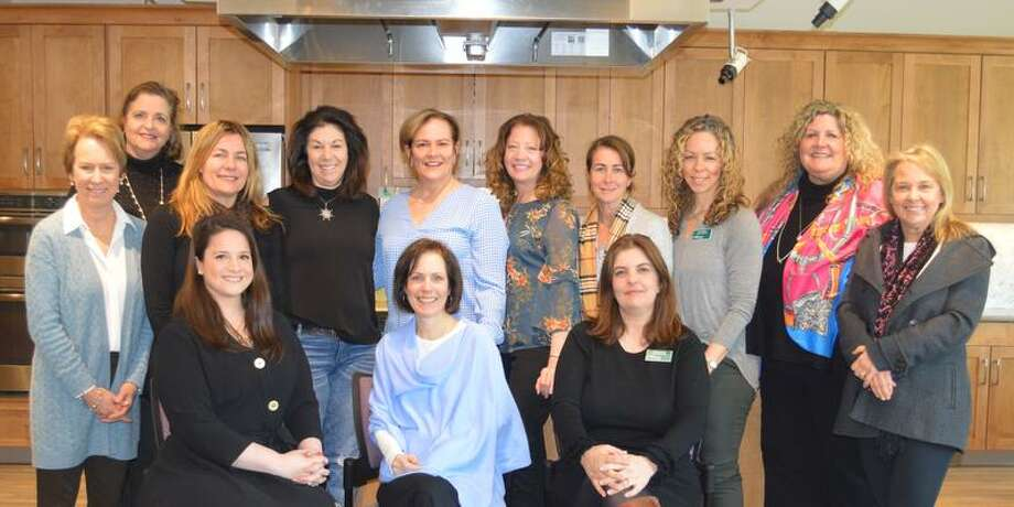 Volunteers of the RVNA's Spring Breakfast Committee. Back row, from left to right: Rosalind Harris, Maureen McLam, Sue Buckanavage, Lori Berisford, LouAnn Daprato, Lauryl Schembri, Valerie van Beek, Alice Meenan, Patti Ross, and Kerry Anne Ducey. Front row, left to right: Julia Douglas, MJ Heller, Joanna Roche. Not Pictured: Lynn Broder, Lisa Chuma, Nicole Connors, Mary Dougherty, Jean Grevers, Debra Hayes, Nancy Sullivan Murray, Mary Pat Sexton, Kate Turner.