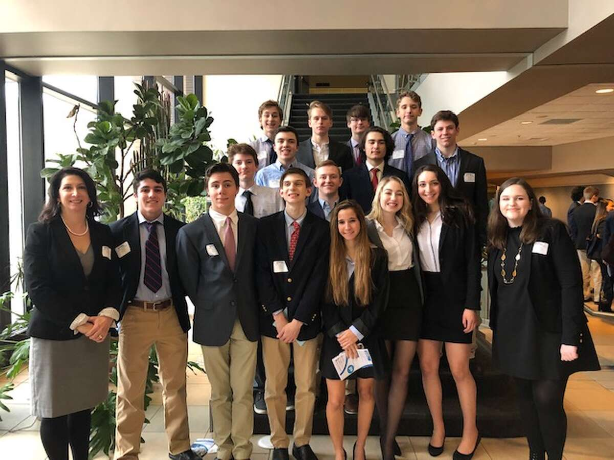 More than a dozen Ridgefield High School students were awarded at the Future Business Leaders of America conference at Naugatuck Community College in Waterbury on March 12.