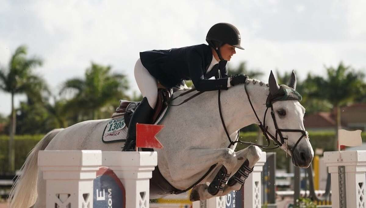 Ridgefield resident Sophia Pilla will compete for the University of Georgia women's equestrian team. - Contributed photo