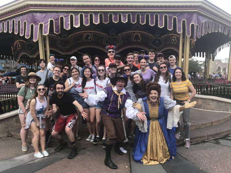 Ridgefield High School music students performed at Disney World in Orlando from Feb. 15 to Feb. 19. The concerts were part of the Disney Performing Arts program and were open to any and all visitors to sit and enjoy.
