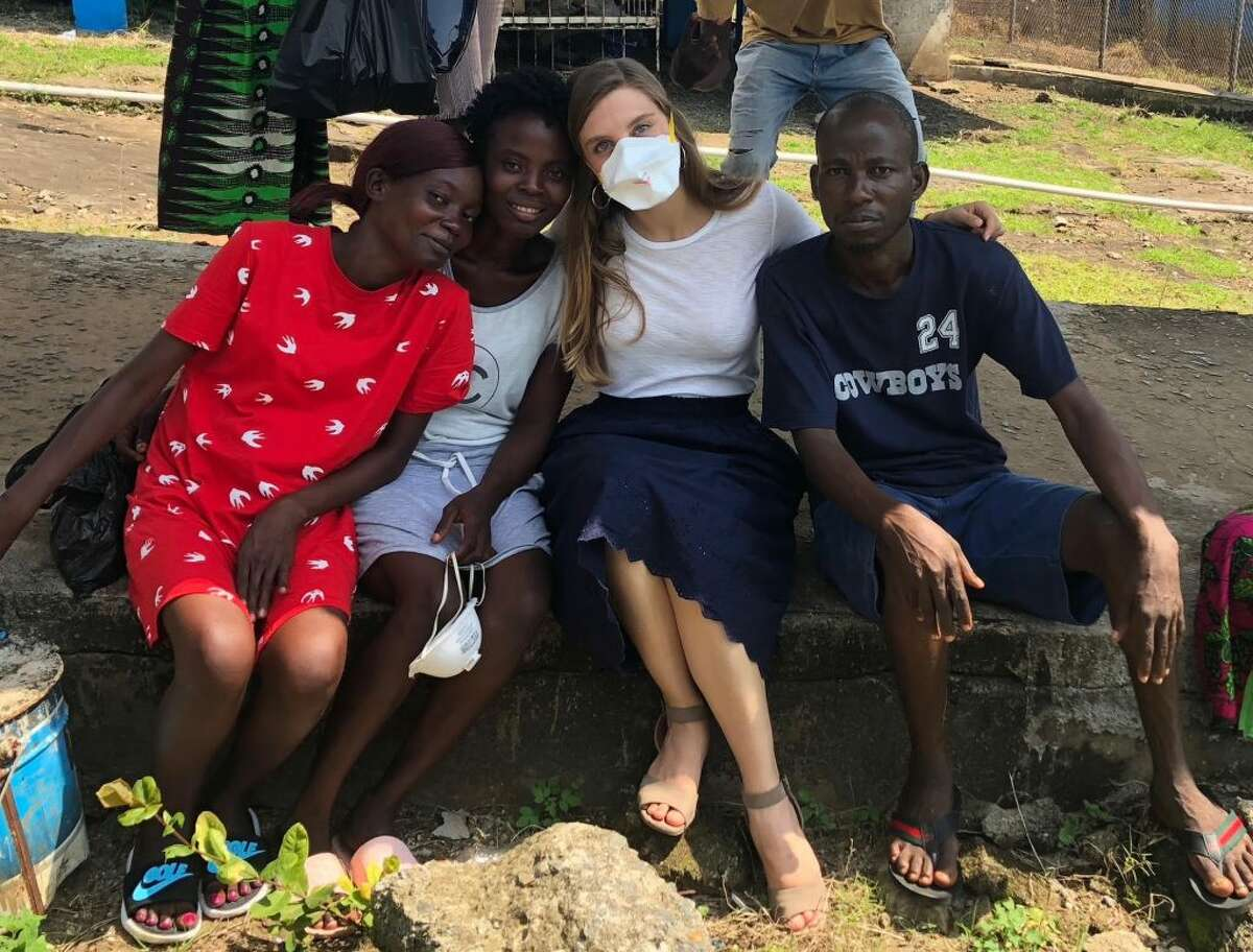Ridgefield High School graduate Margaux Amara spent six months in Liberia with Partners in Health, a nonprofit helping the Liberian government rebuild its tuberculosis program.