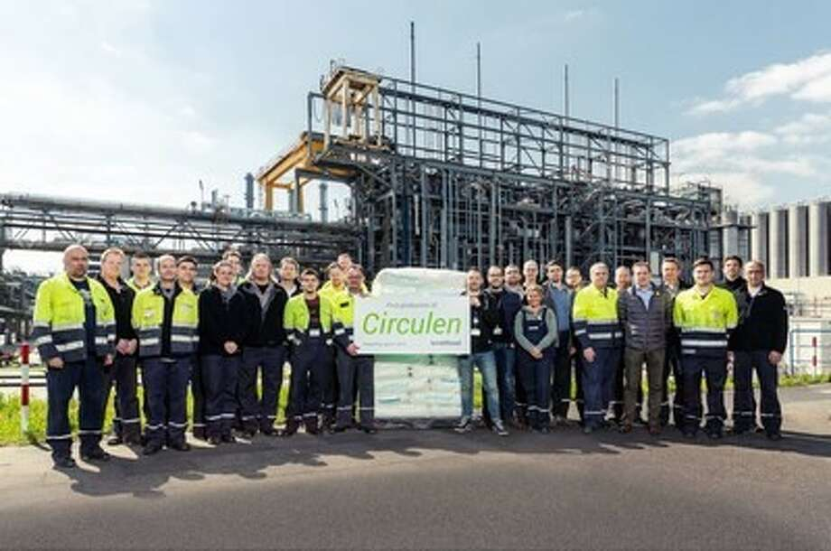 LyondellBasell and Neste announce commercial-scale production of bio-based plastic from renewable materials. The companies say it's the first time bio-based polypropylene and bio-based low-density polyethylene were produced simultaneously at commercial scale. Photo: Courtesy Photo