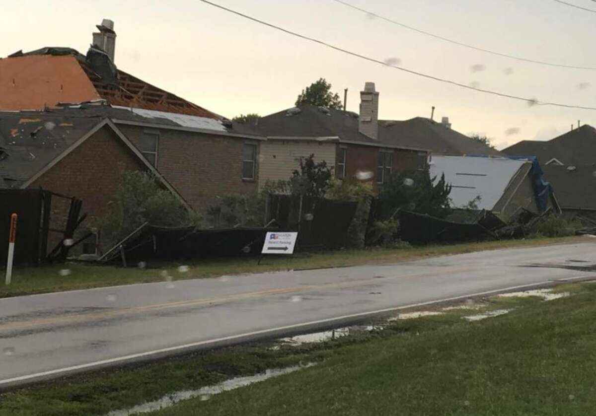 The severe weather caused damage to homes and led to massive power outages across the state.