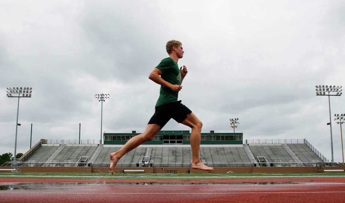All-Greater Houston Male Track Athlete of the Year, Strake Jesuit's Matt Boling on Wednesday, May 29, 2019 in Houston.