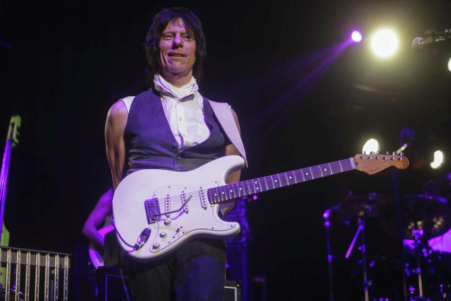 Jeff Beck is a two-time member of the Rock and Roll Hall of Fame. Photo: Sam Wolson /Special To The Chronicle / ONLINE_YES
