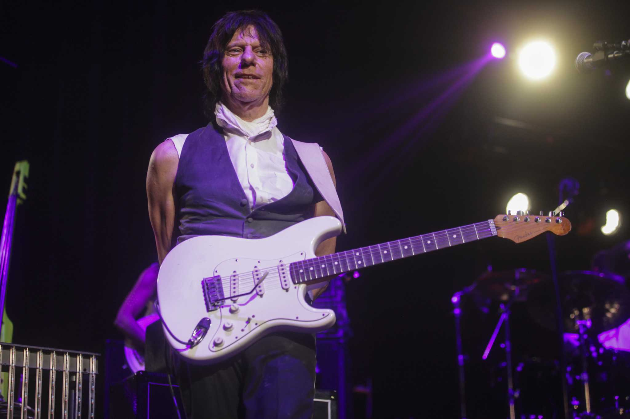Jeff Beck Announces San Antonio Concert San Antonio