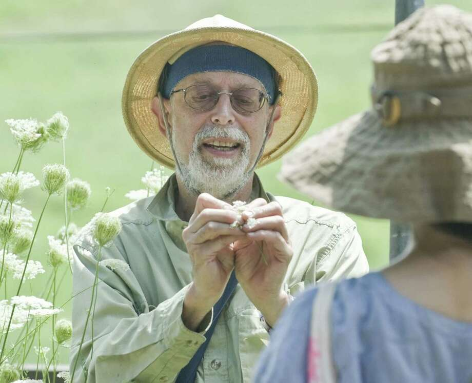 """Naturalist, environmental educator and author Steve """"Wildman"""" Brill will lead one of his famed foraging tours when he visits Tarrywile Park in Danbury June 30. Photo: Hearst Connecticut Media File Photo / The News-Times Freelance"""
