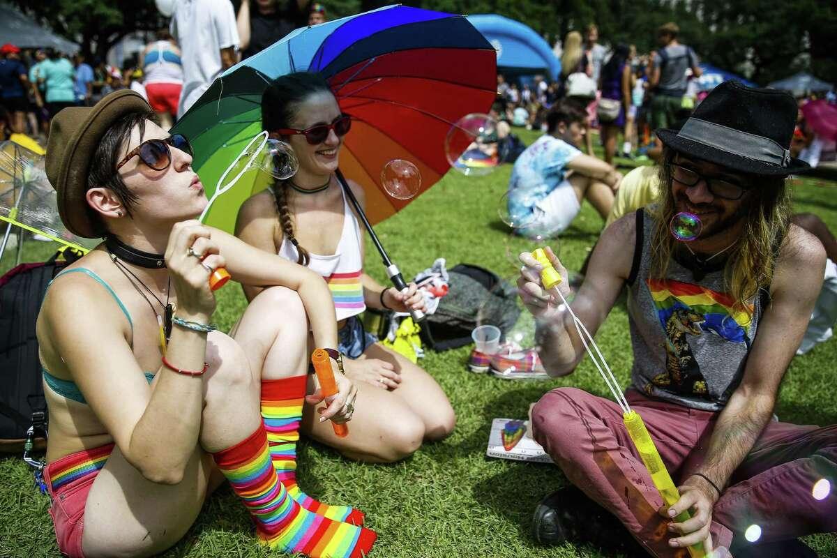 The Houston LGBTQ Pride celebration returns to Houston this Saturday.