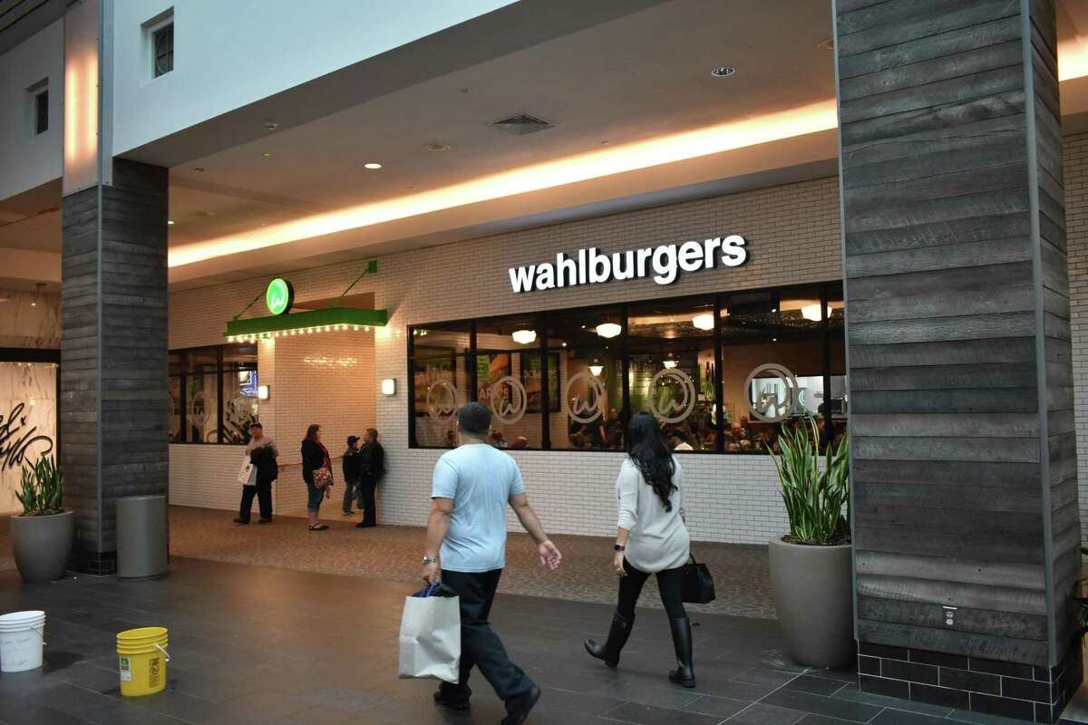 The Trumbull Wahlburgers location, which opened in 2017, was the first and only Wahlburgers in Connecticut. A handwritten sign stated the Trumbull restaurant is closed
