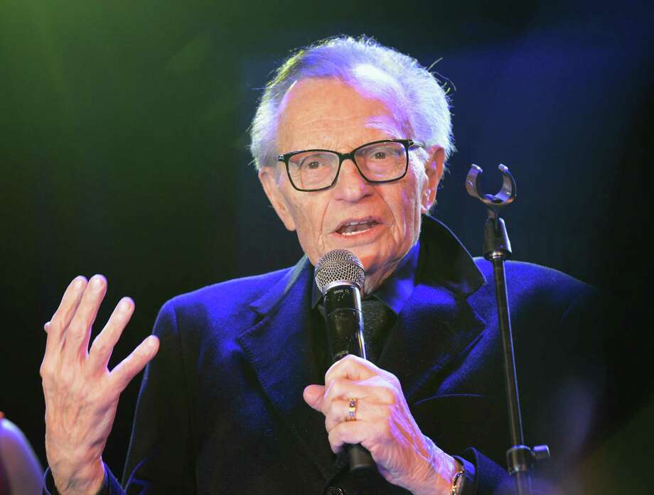 "The Capitol Theatre in Port Chester, N.Y., will host ""Larry King & Everybody Who Was Anybody For the Past 50 Years,"" featuring a conversation about live music with King, above, and the venue's owner, Peter Shapiro, on Oct. 2. Photo: Albert L. Ortega / Getty Images / 2019 Albert L. Ortega"
