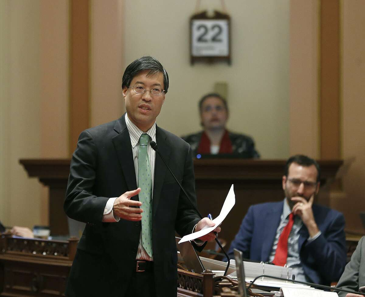 State Sen. Richard Pan, D-Sacramento, calls on lawmakers to approve his measure to toughen the rules for vaccination exemptions.