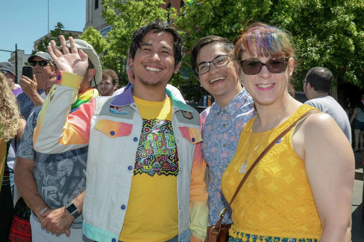 Plans for Middletown's 2020 Pride fest include installing a video screen on the South Green and the Main Street performance stage, so activities can be viewed from both vantage points, as well as a giant canvas for people to write messages about what pride means to them.