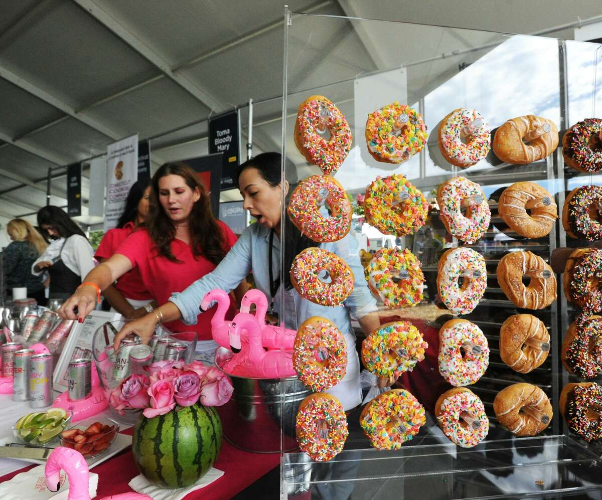 Behold the tastist of treats at the annual Greenwich Wine + Food Festival at Roger Sherman Baldwin Park in Greenwich on Saturday. Find out more.