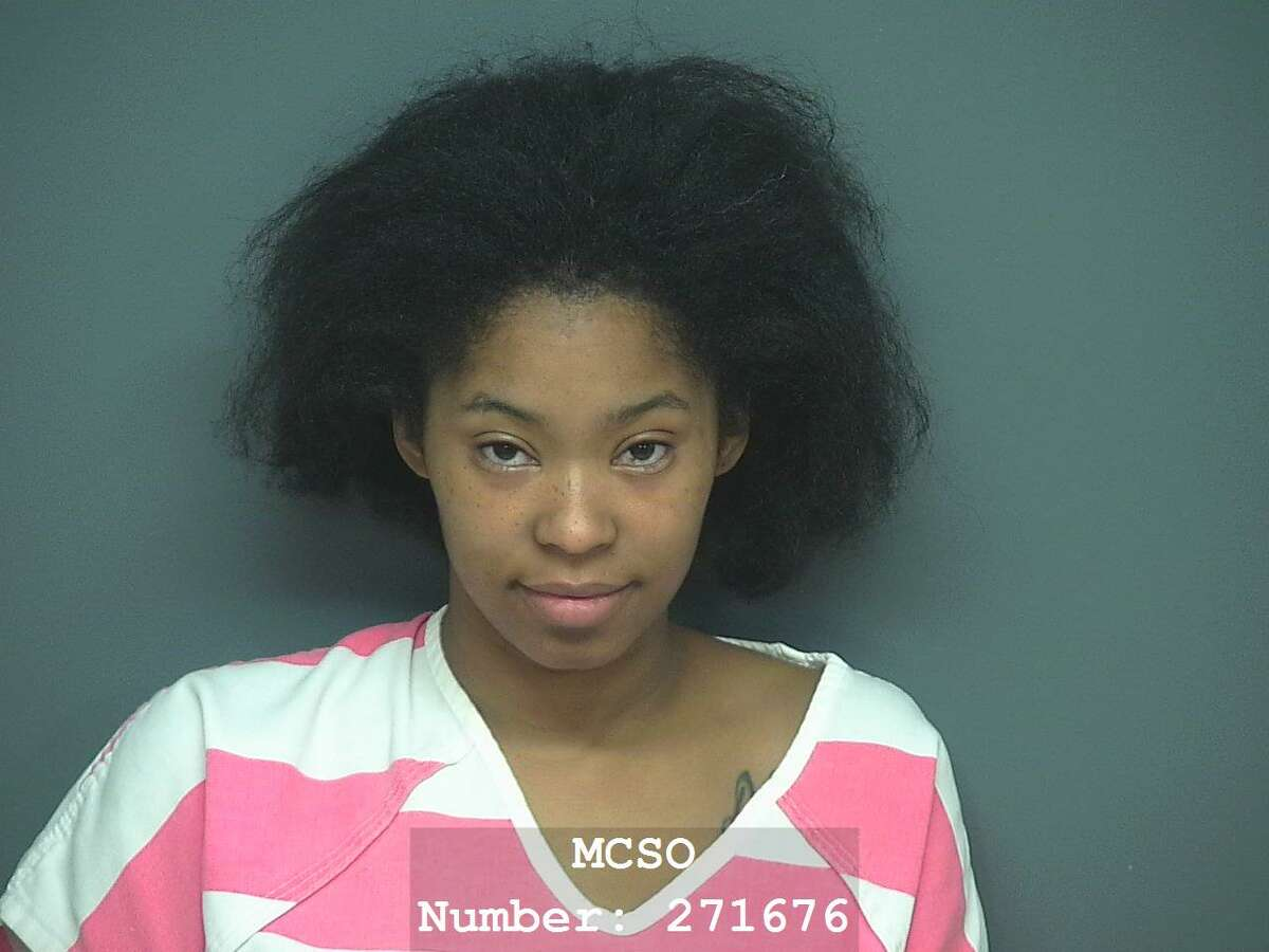 Korena McCray was arrested on a charge of DWI with a child passenger.