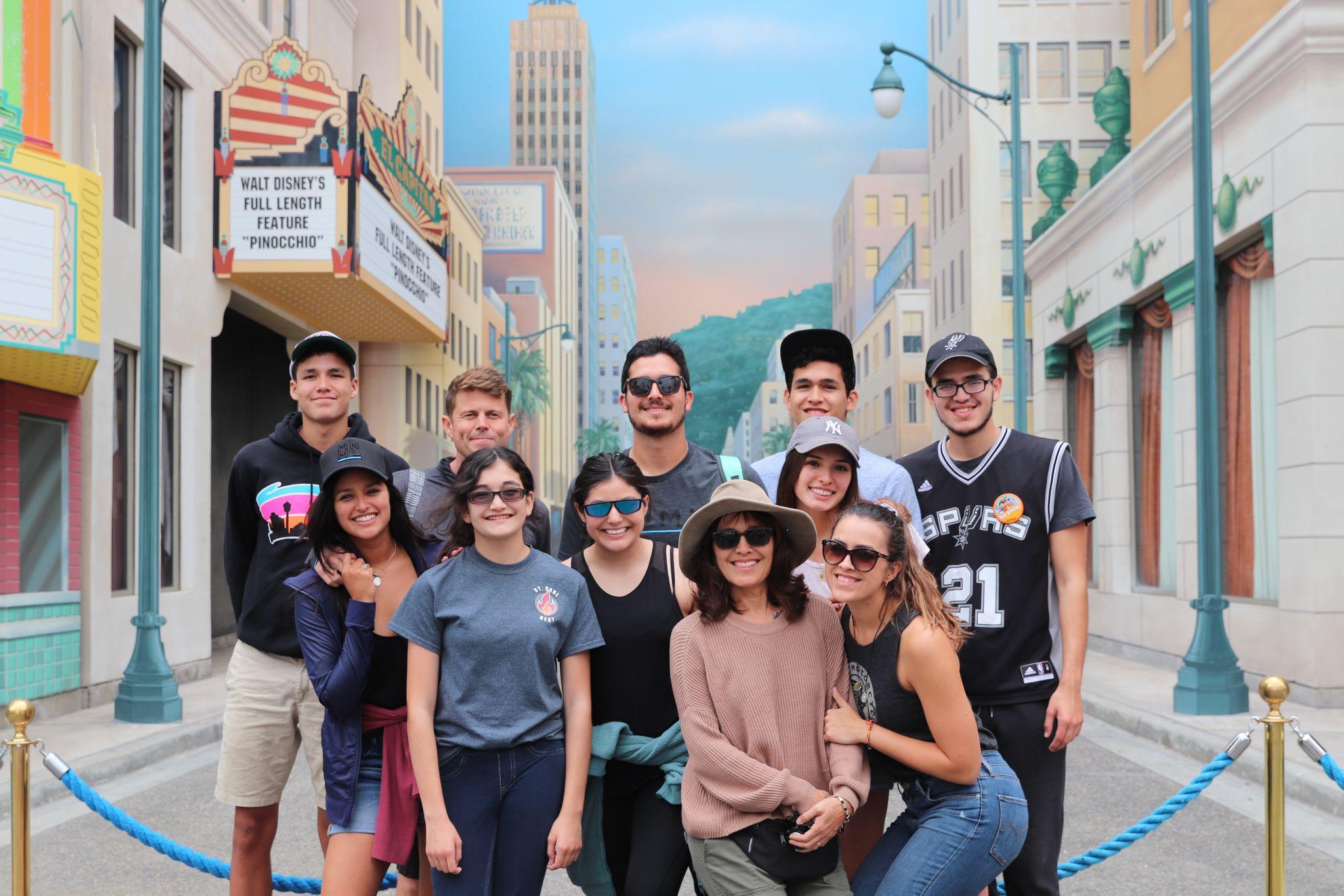 Antonian High School alumni, family visit L.A. to support San Antonio native, actress Feliz Ramirez