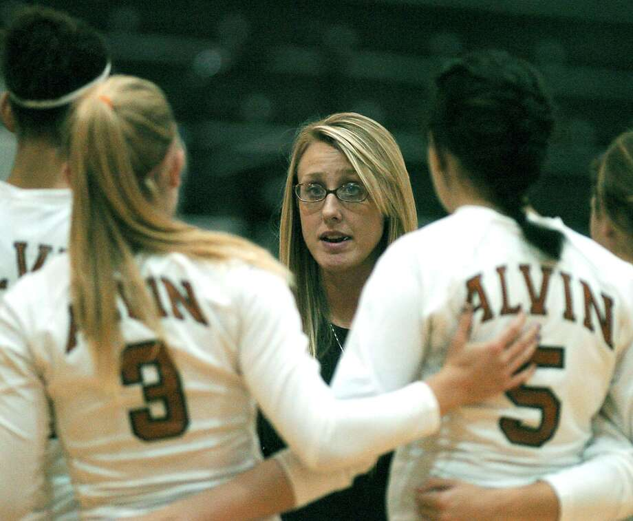 Alison Kley Williams has been hired as the head volleyball coach at Clear Falls High School. Photo: Kirk Sides, Freelance / For The Chronicle / Freelance