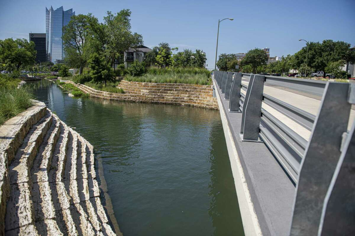As of May 5, 2018, the first segment pf San Pedro Creek was open to the public. This portion of the Culture Park begins with a Tunnel Inlet. Also found in Phase 1 are commissioned murals and other art pieces that represent the history and culture of this historic creek. Bexar County Commissioners will take a major step in advancing the San Pedro Creek Restoration Project, considering a proposed $85.7 million budget for the next two phases, even while the current $74 million phase is under construction, issuing tax-exempt certificates of obligation. That will raise the total project cost to date of the Culture Park to $235 million. Also on the agenda is capital funding of $2.7 million for construction and operation of BiblioTech EDU, an all digital public library, at Fox Tech High School, and $1.7 million for design and 10 percent of construction for an interchange in the high-growth Alamo Ranch area on the far West Side.