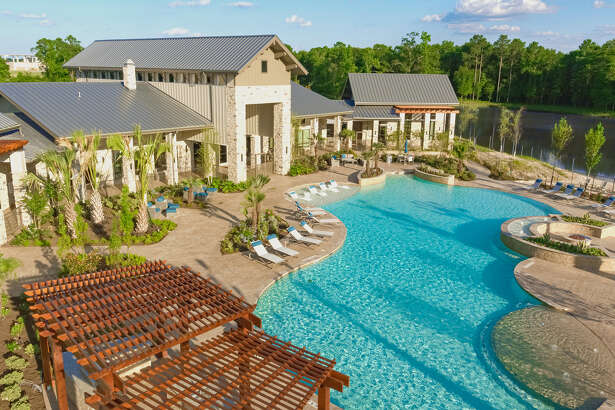 The first phase of The Pointe at Valley Ranch apartments is now open at 20290 Park Lake View Drive in New Caney.