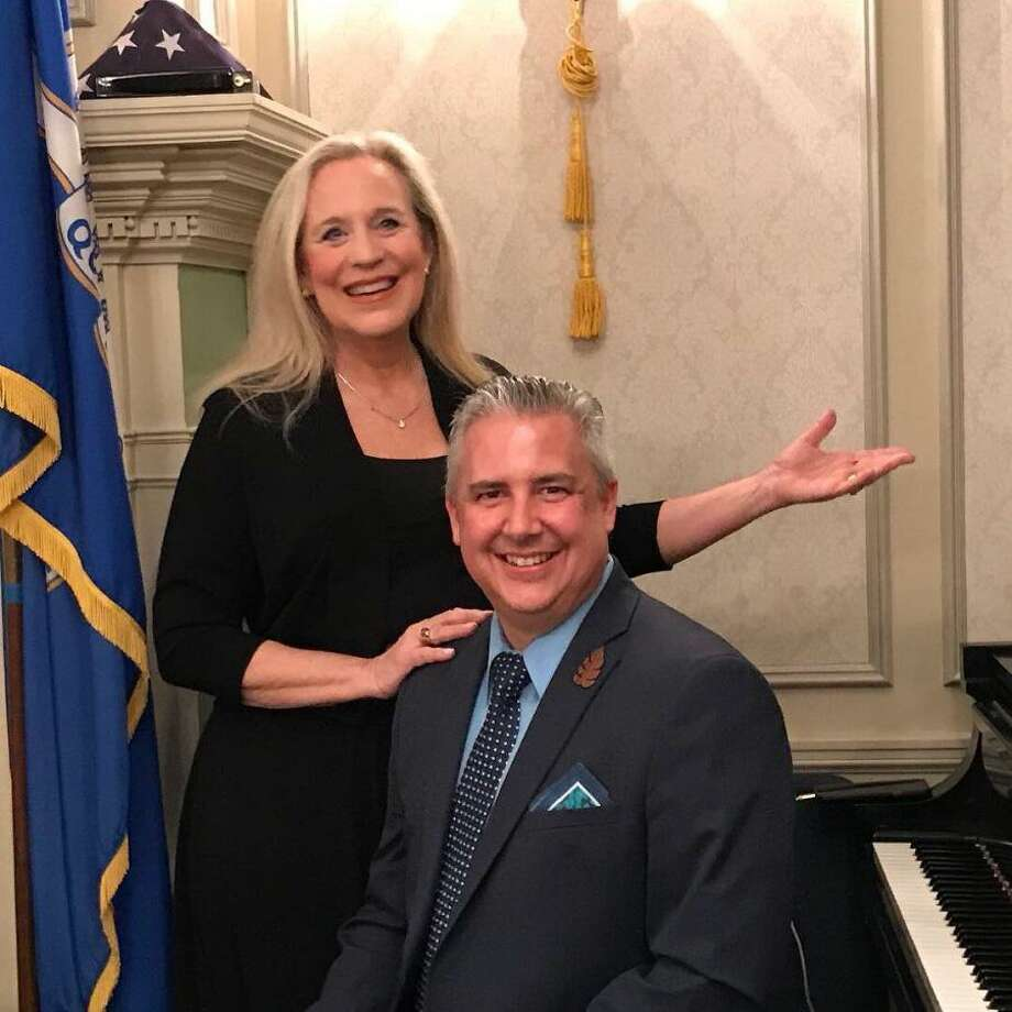 "Maureen Hamill and David Harris will perform show tunes at the third ""Wine at The Klein"" in Bridgeport June 20. Photo: The Klein / Contributed Photo"