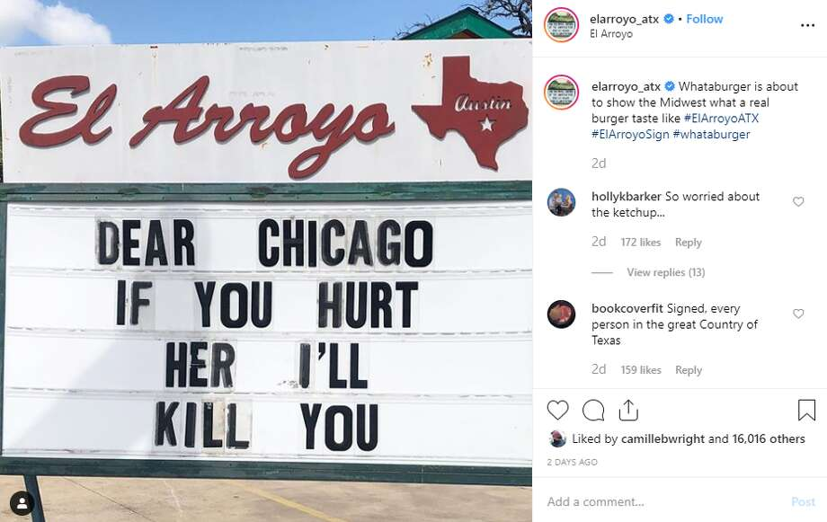 elarroyo_atx: Whataburger is about to show the Midwest what a real burger taste like Photo: Instagram Screengrab
