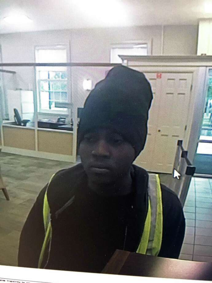 Police are looking to identify this man, who they say is the suspect of a bank robbery at KeyBank, 322 Main St. in West Haven, Conn., around 9:30 a.m. on Tuesday, June 18, 2019. Photo: Contributed Photo / West Haven Police Department