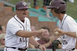 Nebraska recently named Conroe native and former Texas A&M third base coach Will Bolt (left) its 24th head coach in program history. Bolt played for Nebraska from 1999-2002.