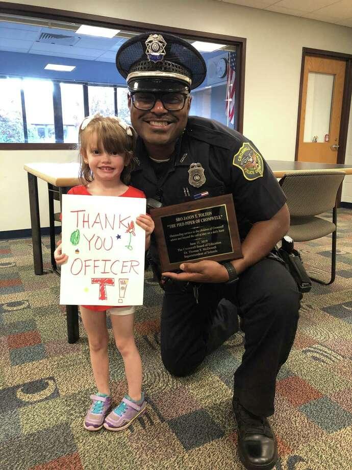 "Amy Drew and ""Officer. T"" - Jason Tolton Photo: Amanda Drew /"