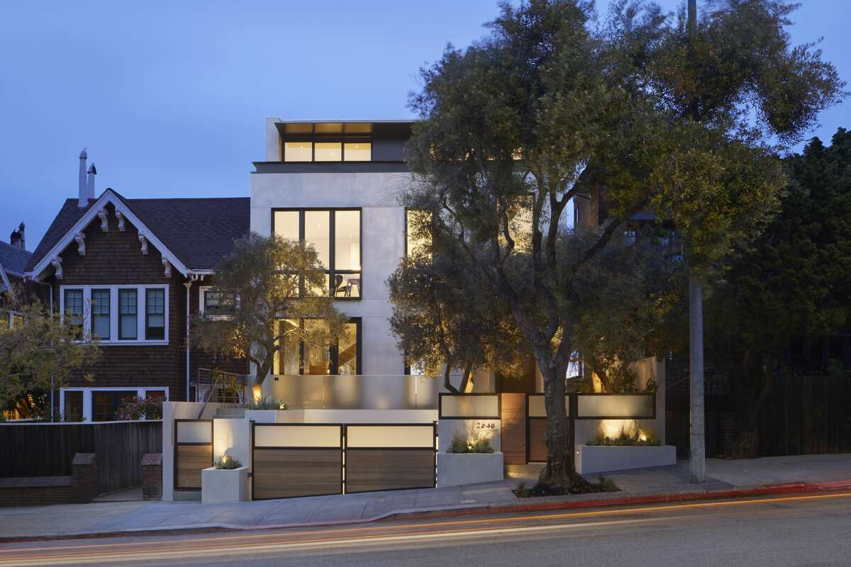 A pre-certified LEED-Platinum home at 2646 Union St. in San Francisco will be one of the area's most sustainably-built properties and features an abundance of health-giving amenities, including a dedicated garden-level wellness center.