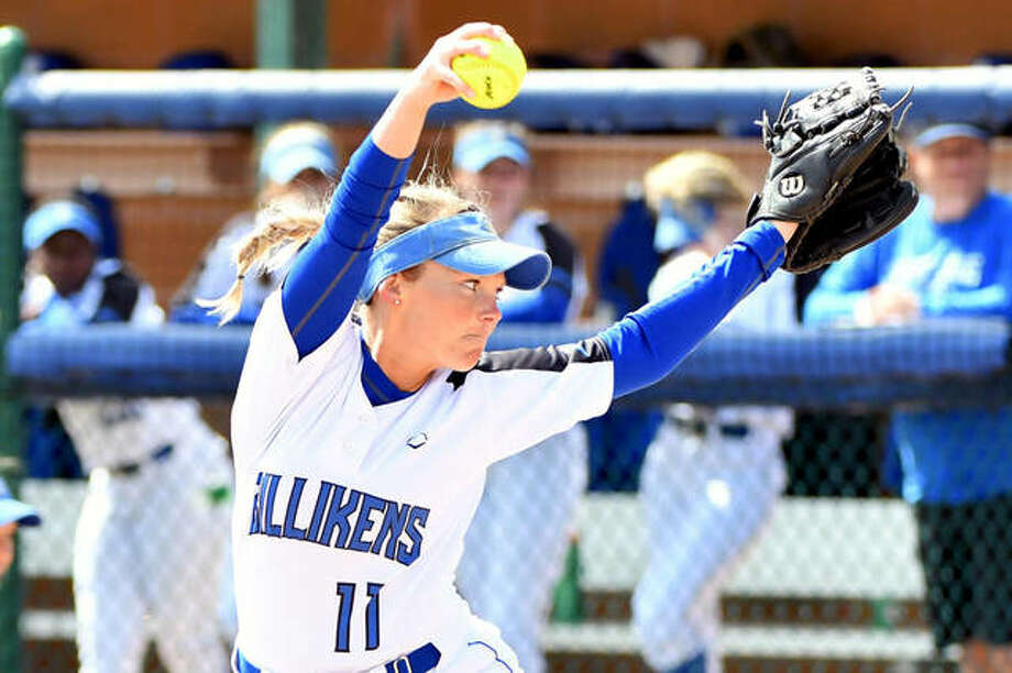 Saint Louis University pitcher Kallen Loveless, a graduate of Edwardsville High School, was part of a group that captured the 2018-2019 Parks College of Engineering, Aviation and Technology Most Outstanding Senior Project award in biomedical engineering. Loveless, a former Telegraph Player of the Year, graduated from SLU last month. Photo: SLU Athletics