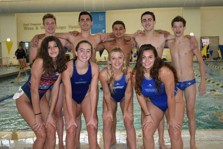 Numerous athletes representing the YMCA of Greenwich-based Greenwich Aquatics water polo team qualified to compete on various USA Water Polo national teams recently. They will play in tournaments throughout the summer. Photo: Contributed Photo / Contributed Photo / Greenwich Time Contributed