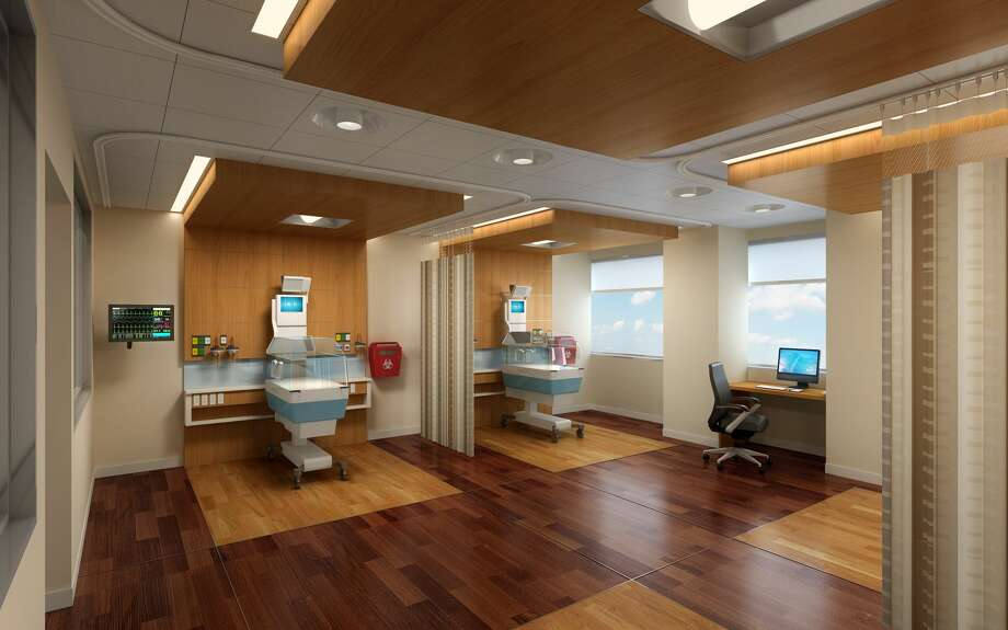 These artist renderings illustrate Midland Memorial Hospital expanded Neonatal Intensive Care Unit. Photo: Courtesy Of Midland Health