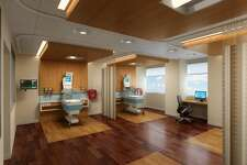These artist renderings illustrate Midland Memorial Hospital expanded Neonatal Intensive Care Unit.