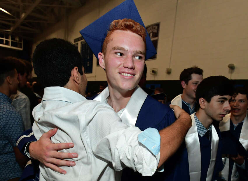 The Staples High School Class of 2019 Commencement Exercises Tuesday, June 18, 2019, at the school in Westport, Conn.