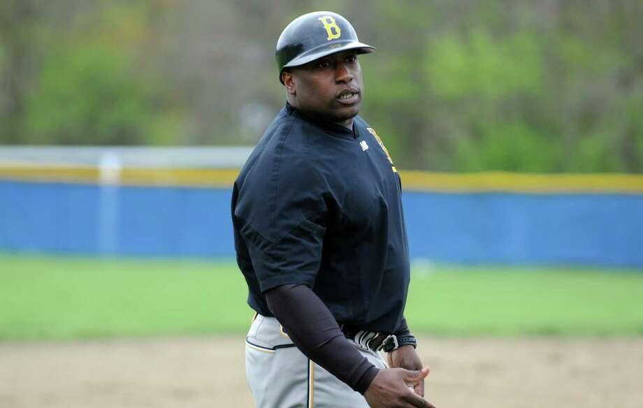 Ballston Spa High School head coach Curtis Nobles  on Thursday May 5, 2016 in Colonie , N.Y. (Michael P. Farrell/Times Union) Photo: Michael P. Farrell / 20036479A