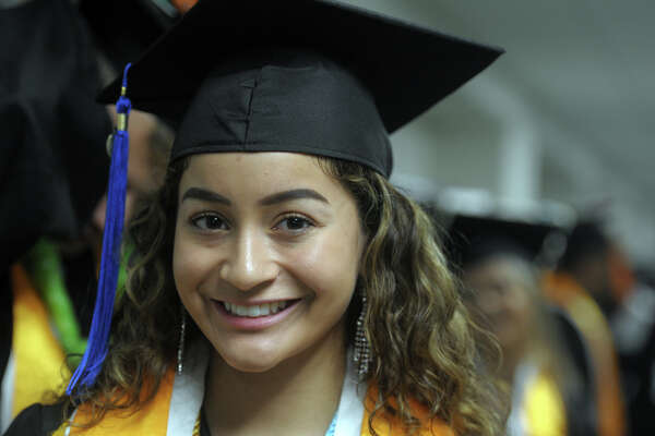 Graduation for Fairchild Wheeler Interdistrict Science Magnet High School, Class of 2019, held in Bridgeport, Conn. June 18, 2019.