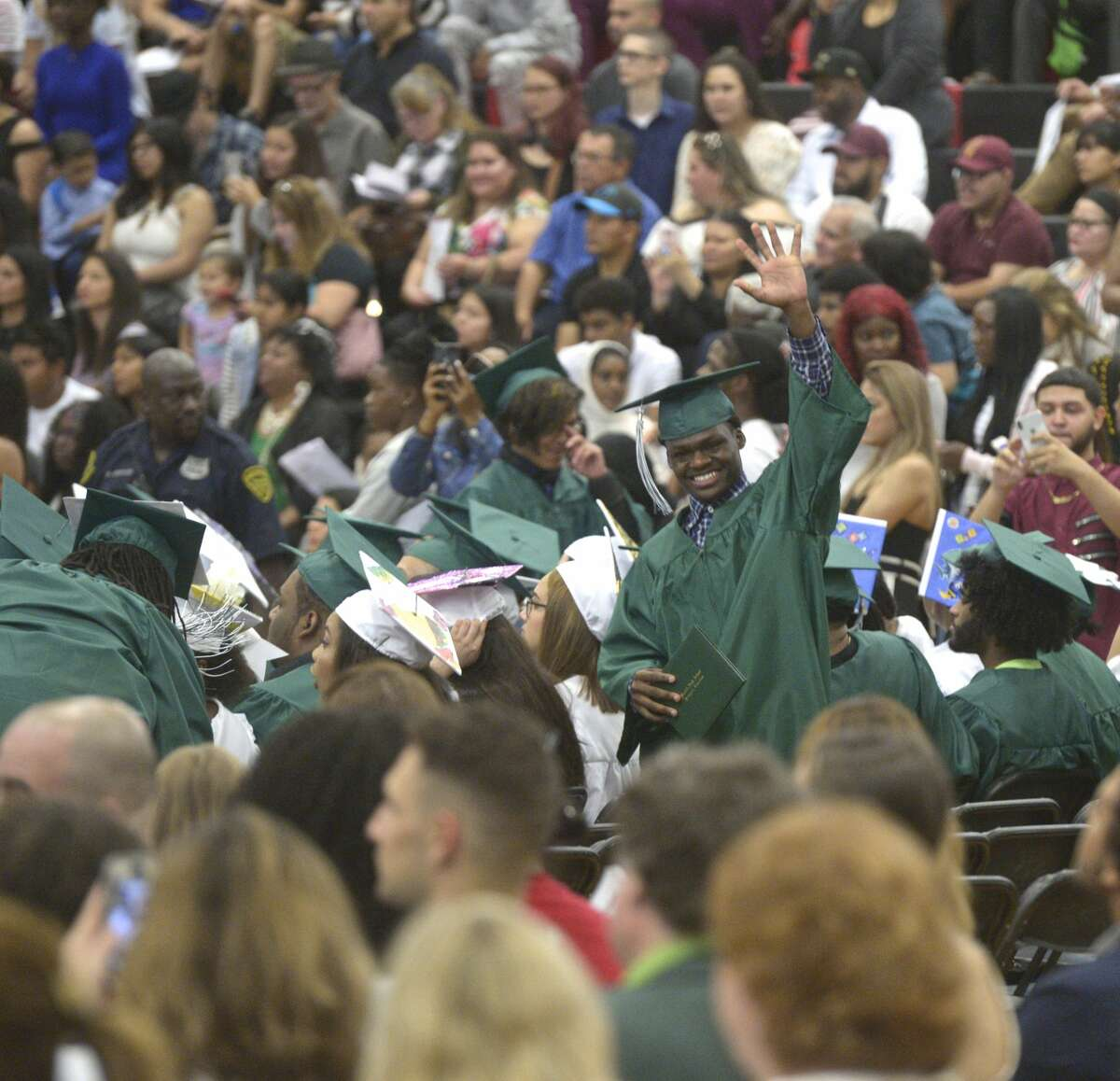 The Class of 2019 Bassick High School Commencement Exercise, Tuesday, June 18, 2019, at Central High School, Bridgeport, Conn.