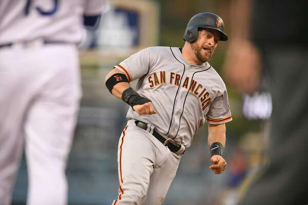 Stephen Vogt's spin on Giants-Dodgers rivalry
