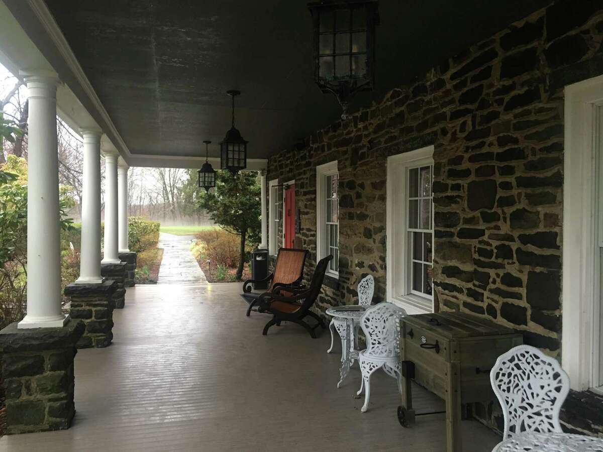 Hasbrouck House in the Hudson Valley feels both old and new.