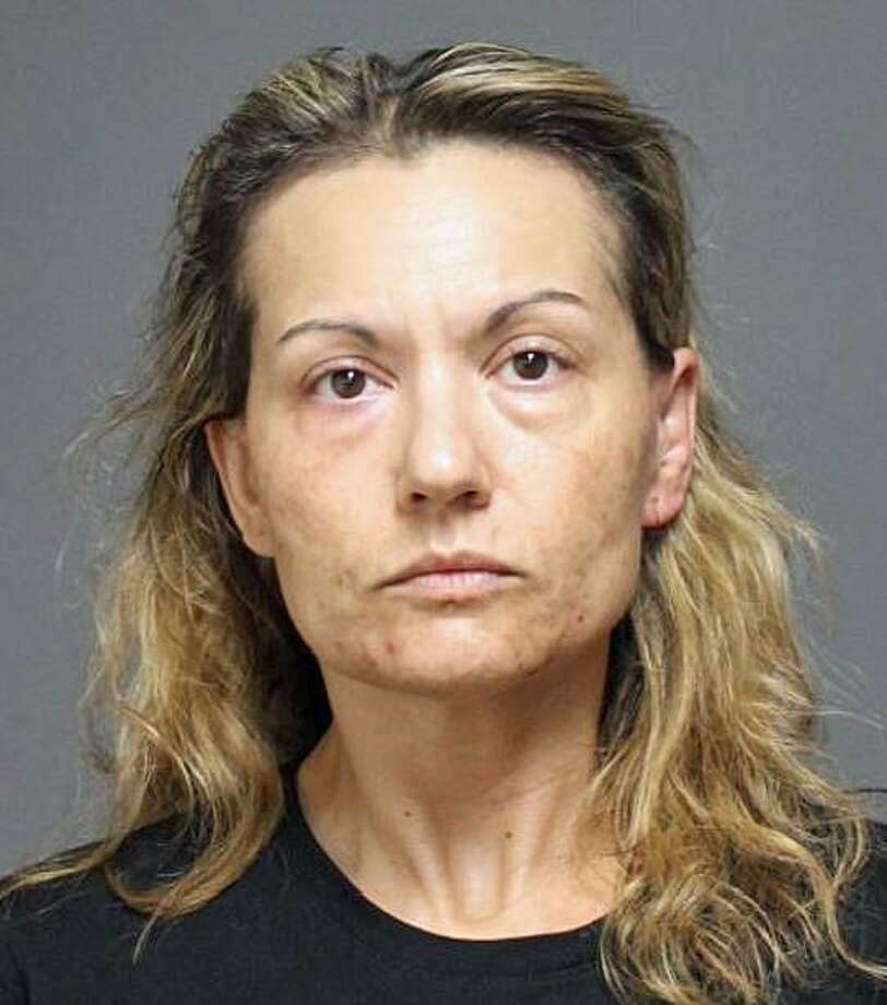 A Stratford woman was arrested after she allegedly rammed a police cruiser and nearly struck an officer with a vehicle on Tuesday, June 18, 2019. Lisa M. Briggs, 42, of Main Street in Stratford was arrested on charges of criminal attempt to assault a police officer, interfering with a police officer, sixth-degree larceny, possession of drug paraphernalia, reckless driving and engaging officers in pursuit. She was held on a $25,000 bond and ordered to appear in Bridgeport Superior Court July 2. She was was also issued a misdemeanor summons for an unsafe start, evading responsibility and operating a motor vehicle without a license for a collision that occurred with another vehicle in her attempt to flee. Photo: Fairfield Police Department Photo