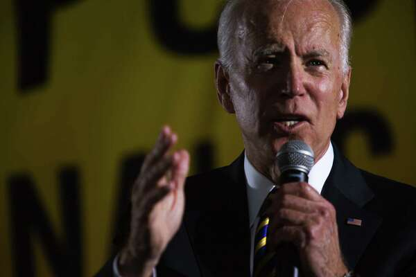 Joe Biden speaks at a June 17, 2019, forum hosted by the Poor People's Campaign. At a June 17 fundraiser, he cited his ability to work alongside segregationist senators in recalling a bygone era of civility in American politics.