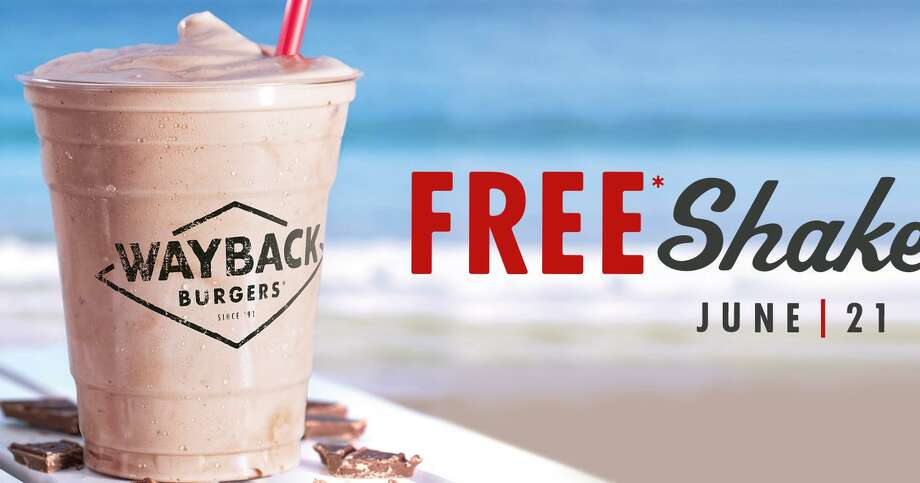 On Friday, June 21, Wayback Burgers will again usher in the first day of summer by offering free milk shakes at participating locations. Photo: Screenshot Via Wayback Burgers.