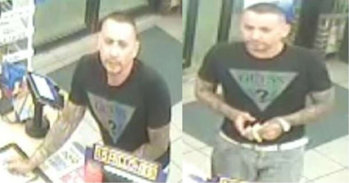 Laredo police said this man is a person of interest in an assault that occurred on March 24.