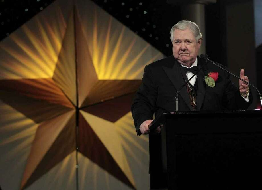 Frank A. Bennack Jr. was one of the five inductees into the Texas Business Hall of Fame in 2012. Now retired, the former Hearst Corp. CEO has written a book that reflects on his successful life and career. Photo: Billy Smith II / Houston Chronicle / © 2012 Houston Chronicle