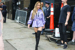 NEW YORK, NEW YORK - JUNE 18: Ally Brooke is seen on June 18, 2019 in New York City. (Photo by gotpap/Bauer-Griffin/GC Images)