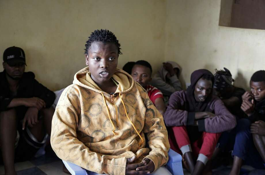 Nina Muregwa, 17, fled her native Burundi after her lover's mother threatened to kill her over her sexual identity Photo: Khalil Senosi / Associated Press
