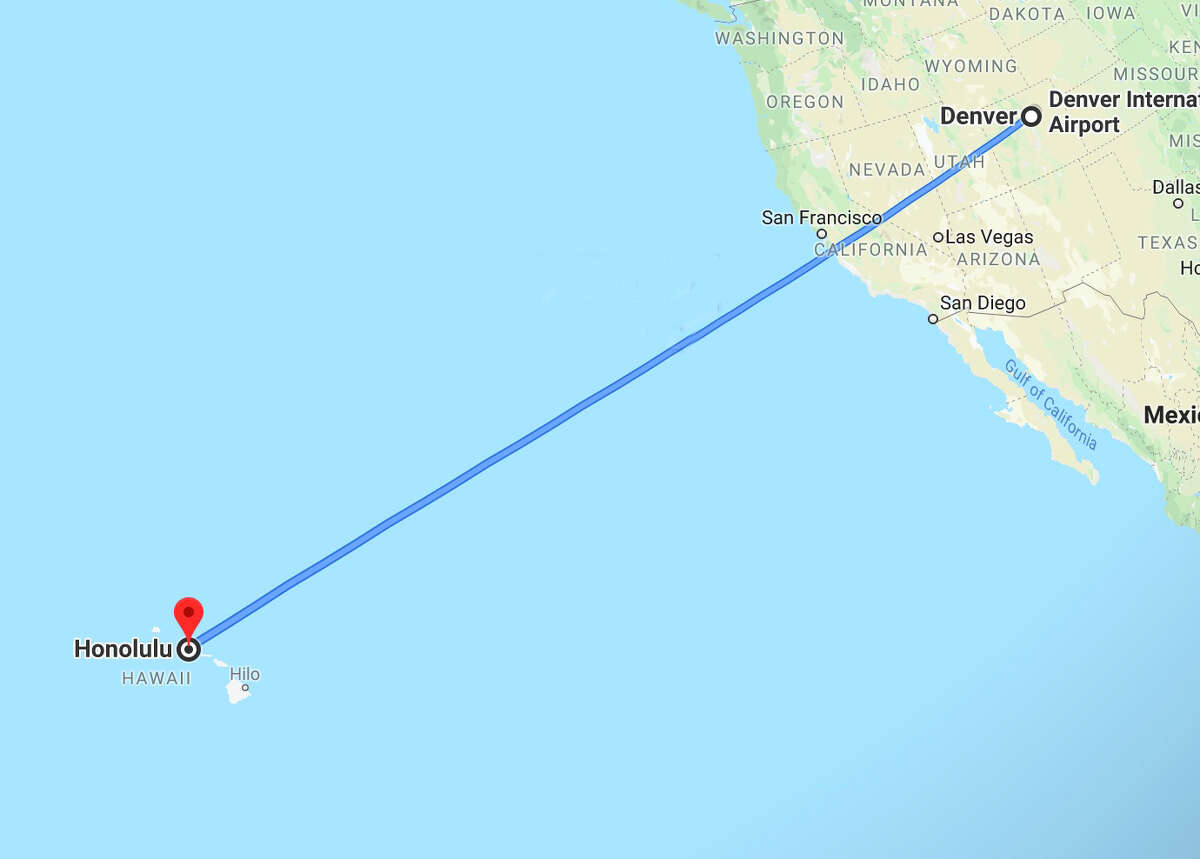 The A321XLR could easily fly non-stop from Frotnier's Denver hub to Hawaii.