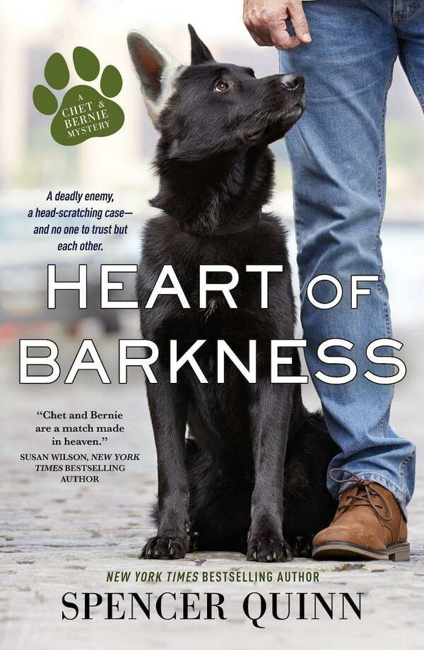 "Author Spencer Quinn will be at the Fairfield University Bookstore July 20, during the Fairfield Sidewalk Sale & Street Fair, to meet and greet customers and sign copies of his latest book, ""Heart of Barkness — a Chet and Bernie Mystery."" Photo: Fairfield University Bookstore / Contributed Photo"