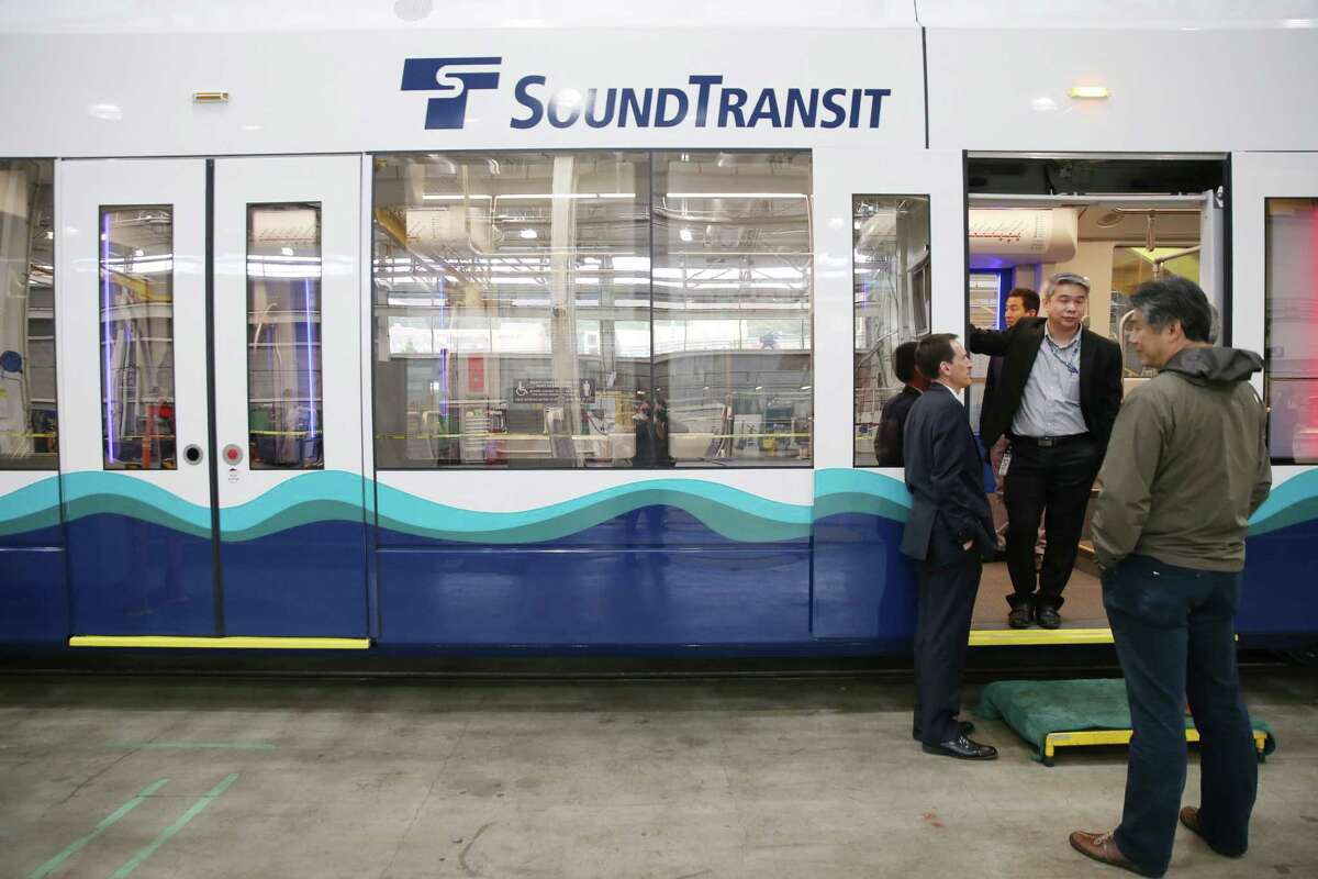 Siemens Industry, Inc. has completed the first new light rail vehicle (LRV) for Sound Transit, which they displayed during a media event at the Sound Transit Operations and Maintenance Fleet Facility, Wednesday, June 19, 2019.